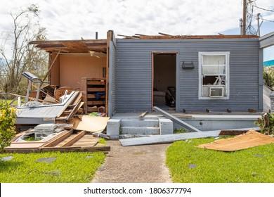 Hurricane Laura Devastated these Lake Charles & Cameron Parish Homes