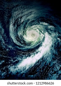 Hurricane view from the space Elements of this image furnished by NASA