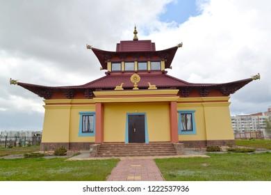Hurul of the Buddhist center of tradition Kagyu Karma. Elista, Kalmykia