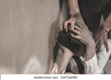 Husband assaulted his wife severely, The concept of violence against women and domestic violence.