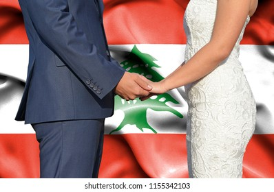 Husband and Wife holding hands - Conceptual photograph of marriage in Lebanon