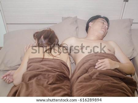 Sleep sex wife