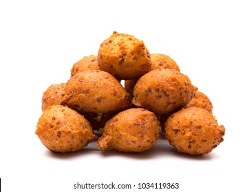 Hushpuppies, an Classic Souther Side of Fried Cornbread Balls