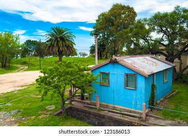A hut in Colonia del Sacramento, Uruguay