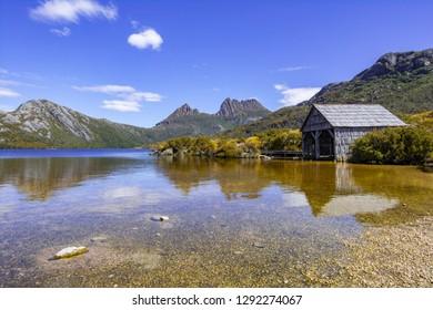 The Hut - Dove Lake, Cradle Mountain-Lake St Clair National Park Tasmania, Australia