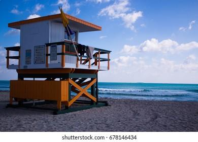 hut lifeguard  Florida