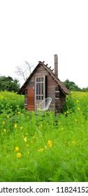 Hut in rural