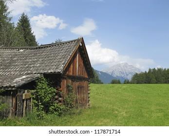 Hut In Tyrol