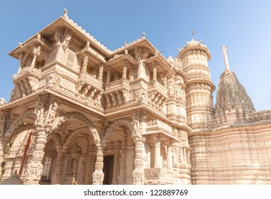 Hutheesing Jain Temple, consecreted in 1848, is one of the best known Jain temple in Ahmedabad in Gujarat, India.
