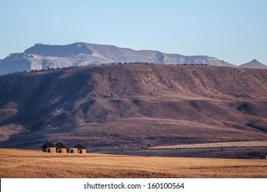 Huts in Zulu land
