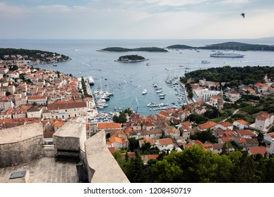 Hvar is a city and port on the island of Hvar, part of Split-Dalmatia County, Croatia.
