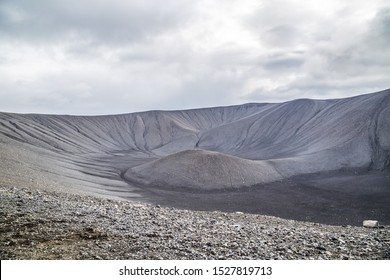 Hverfjall volcanic crater in Myvatn, Iceland