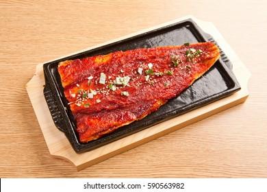 hwangtae gui is korean style Grilled Dried Pollack