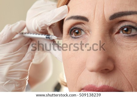 Hyaluronic Acid Injection Facial Rejuvenation Procedure