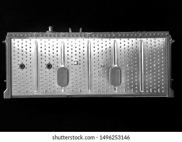 Hybrid battery cell module, black background