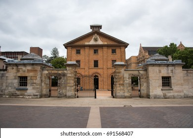 Hyde Park Barracks Museum in the Queen's Square in Sydney, Australia/Hyde Park Barracks /SYDNEY,NSW,AUSTRALIA-NOVEMBER 19,2016: Hyde Park Barracks Museum in the Queen's Square in Sydney, Australia