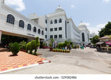 HYDERABAD, INDIA - AUGUST 13,2016 Salar Jung Museum is a National Museum of India located in Hyderabad. It has the largest one-man collection of antiques in the world