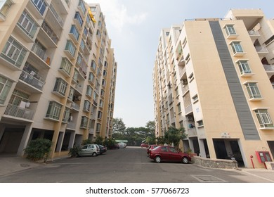 HYDERABAD, INDIA - FEB 12,2017 Housing market in India gets a boost after Government of India has announced more subsidy for first-time home buyers in the higher income brackets.