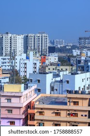 Hyderabad, INDIA - January 11 : Hyderabad is the fourth most populous city and sixth most populous urban agglomeration in India, on January 11 2018, Hyderabad, India