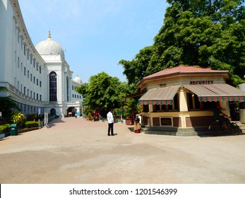 Hyderabad, Talengana/India-04-25-2018 : The Salar Jung Museum is an art museum located at Hyderabad.It is one of the three National Museums of India. It is one of the largest museums in the world.