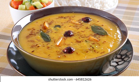 Hyderabadi Khatti Dal (Famous Lentil Curry)