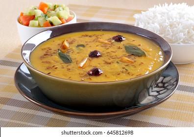 Hyderabadi Khatti Dal (Famous Lentil Curry)