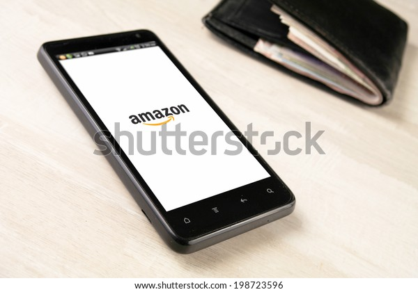 HYDERABAD,INDIA - June 2014, 2014: Amazon.com launches Prime Music, an ad-free streaming service