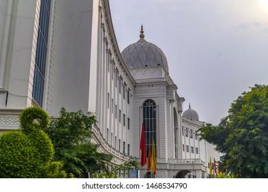Hyderabad/India. Taken on 10/04/2017 Salar Jung Museum of Hyderabad India