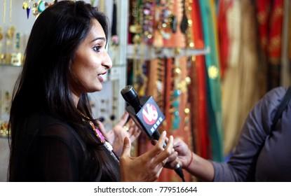 Indian Journalist Images, Stock Photos & Vectors | Shutterstock