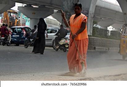 Sweeper Indian Images, Stock Photos & Vectors | Shutterstock