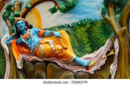 Krishna Paintings Images, Stock Photos & Vectors | Shutterstock