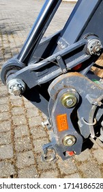Hydraulic arm from a construction equipment