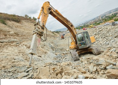 Hydraulic Breaker Images, Stock Photos & Vectors | Shutterstock