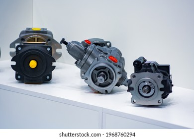 Hydraulic motors. Various hydraulic motors for stations and industry.