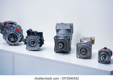 Hydraulic motors. Various hydraulic motors for stations and industry