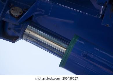Hydraulic Piston Of The Crane