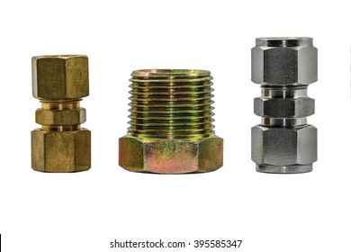 Hydraulic Tubes and Fittings on Hydraulic Equipment