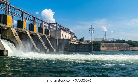 hydro power plant.