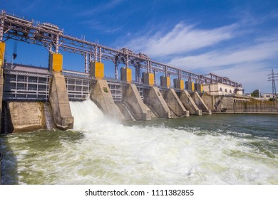 Hydro Power Plant in Dubossary, Moldova