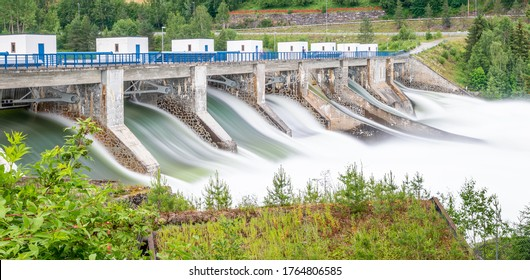 Hydro power plant in Norway