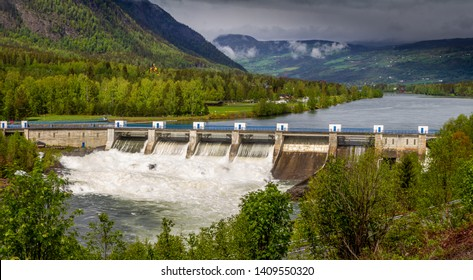 Hydro power station in Norway