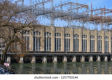 Hydroelectric Dam Power Station