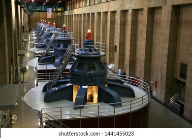 Hydroelectric Power Generators at Hoover Dam