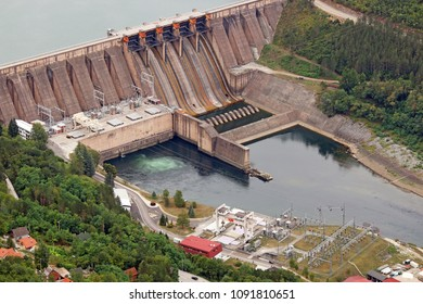 hydroelectric power plant on Drina river