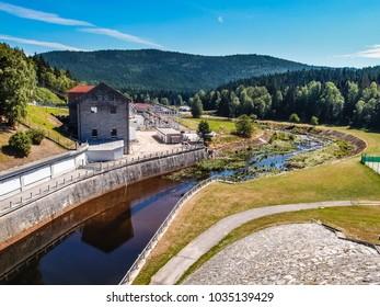 Hydroelectric Power Station - Lipno, Czech Republic, Europe