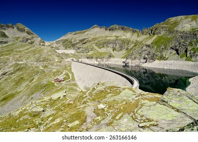 Hydroelectric power station Reisseck, Grosser Muhldorfer See, Austria