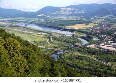 Hydroelectric power Zilina, Zilina, Slovakia