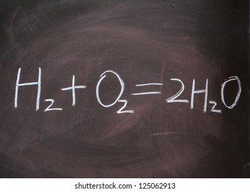 Hydrogen and oxygen reaction equation for free energy