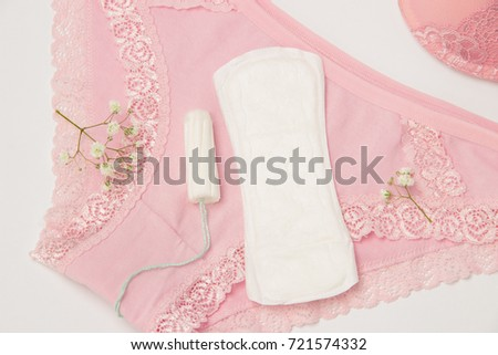 ce314670f380 Hygienic Tampon Sanitary Napkin Every Day Stock Photo (Edit Now ...