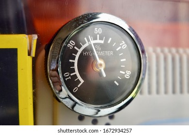 Hygrometer is an instrument used to measure the amount of humidity in the atmosphere.